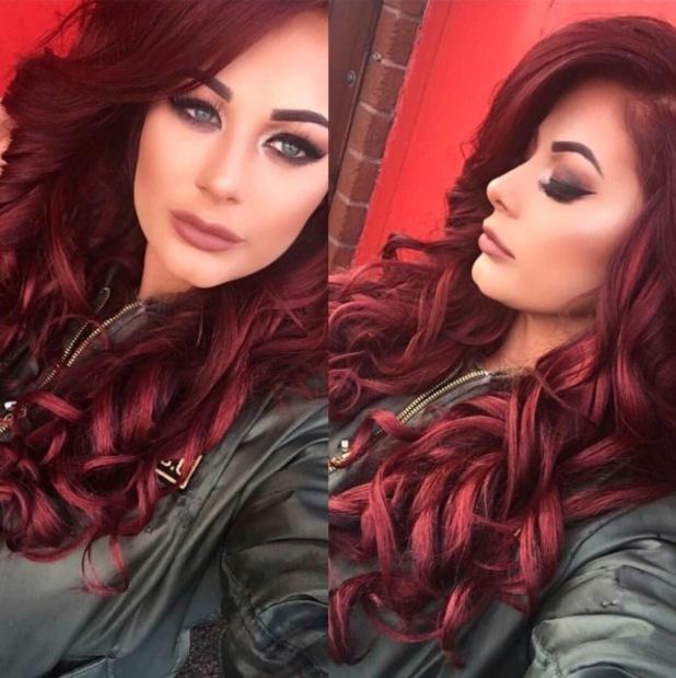 Jess Hayes' make-up artist Megan Dolandson shares make-up look on Instagram 8th March 2016