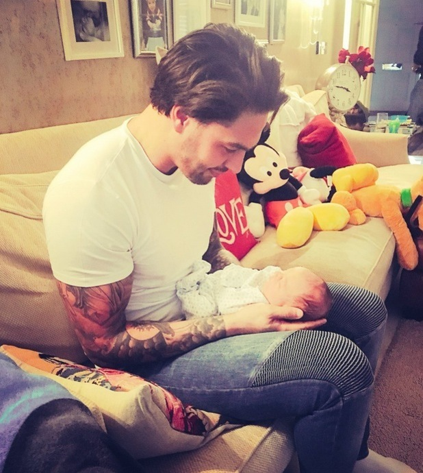 Mario Falcone meets nephew Buddy Buzz for the first time, 6th March 2016