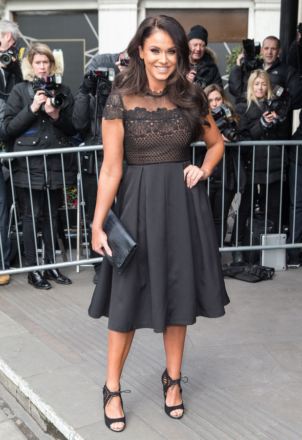Vicky Pattison arrives at the TRIC Awards in London, 8th March 2016