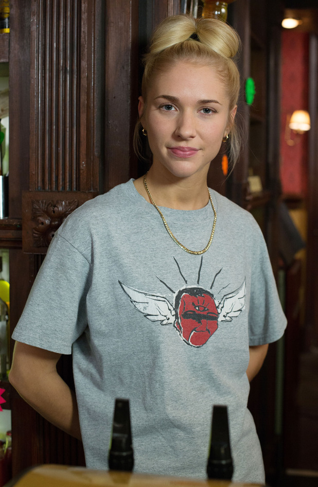 EastEnders character Nancy Carter, played by Maddy Hill.