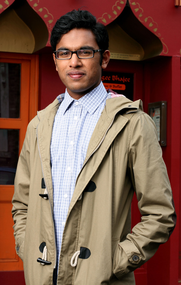 EastEnders character Tamwar Masood, played by Himesh Patel.