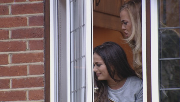TOWIE Series 17, Episode 4. Airs 9 March 2016 Courtney and Chloe talk to Jon