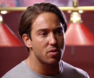 James Lock and Danni Armstrong on her video with Josh Ritchie, TOWIE 16 March