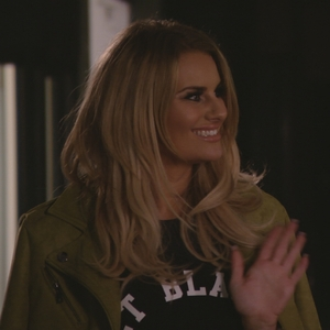 TOWIE: Danni waves to Lockie. 16 March 2016.