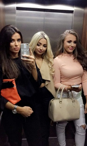 Ex On The Beach: Ashleigh Defty, Nancy-May Turner and Lacey Fuller on night out in Portsmouth 17 March