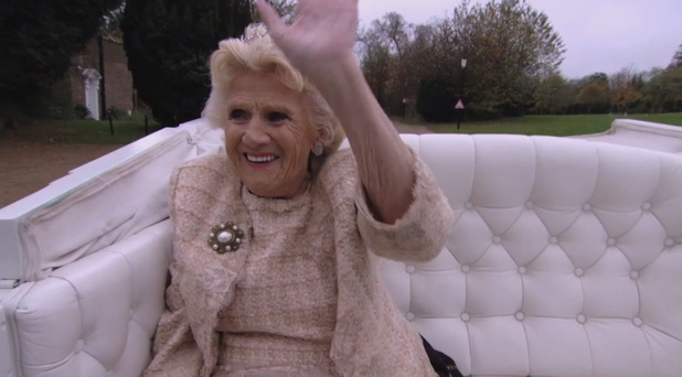 TOWIE: Nanny Pat 80th birthday celebrations as shown on ITVBe's The Power of TOWIE. 13 March 2016.