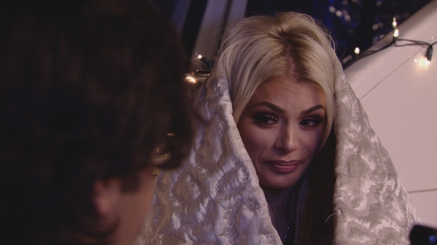 TOWIE: Chloe Sims on a date with Liam. 16 March 2016.