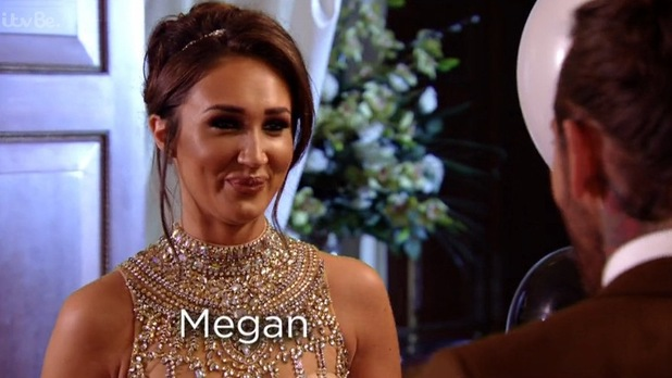 TOWIE - Megan's special guest appearance. 13 March 2016.