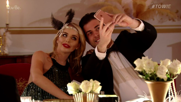 TOWIE - Lydia Rose Bright, James 'Arg' Argent - 13 March 2016.