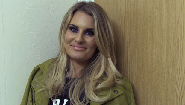 Danielle Armstrong talks ex Lockie in new video. 17 March 2016.