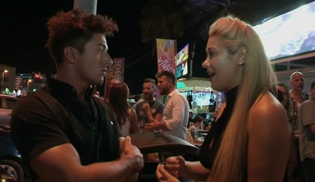 Ellie Young accuses Deano Baily of still being in love with ex Imogen Townley, Ibiza Weekender 13 March