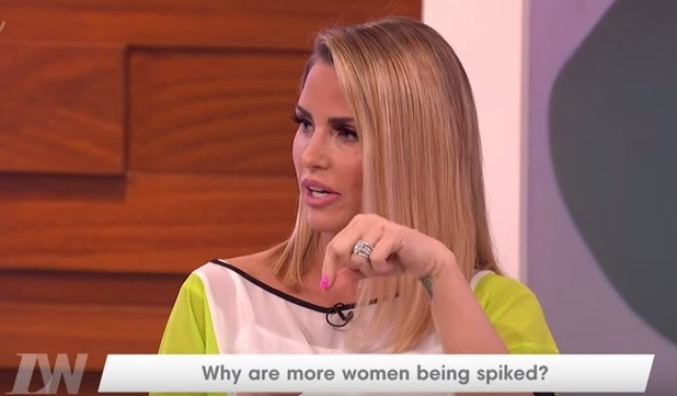 Katie Price appears on Loose Women, ITV 18 March