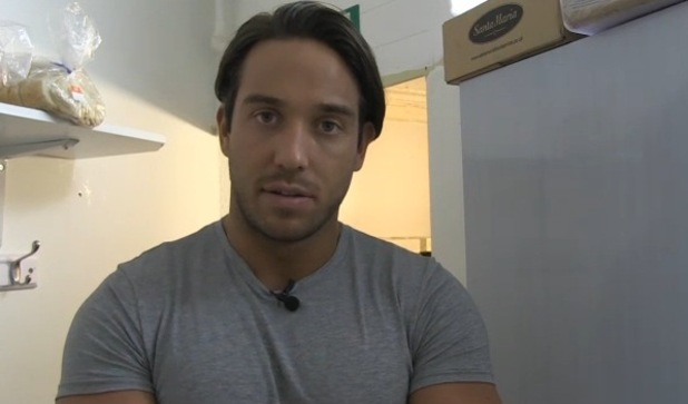 TOWIE's James 'Lockie's Lock in new video. 16 March 2016.
