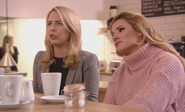 TOWIE: Lydia has words with Tommy Mallet 16 March 2016.