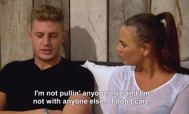 Chantelle Connelly and Scotty T, Geordie Shore 22 March