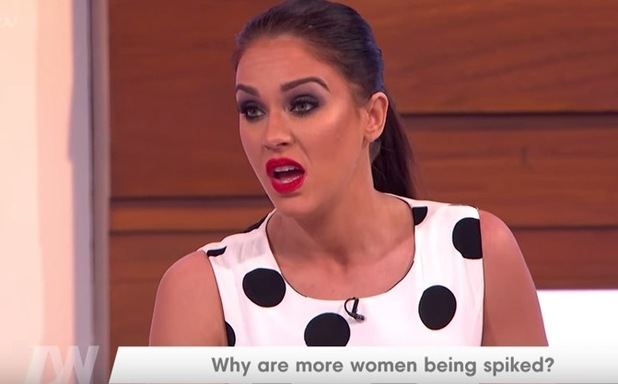 Vicky Pattison appears on Loose Women, ITV 18 March