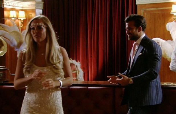 Chloe Meadows and Michael Hassini clash, TOWIE 200 episode 13 March