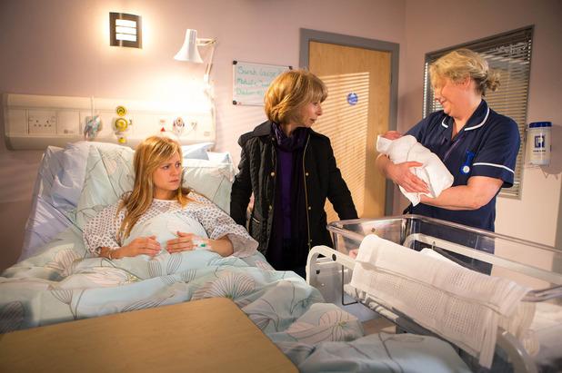 Corrie, Sarah gives birth, Mon 21 Mar