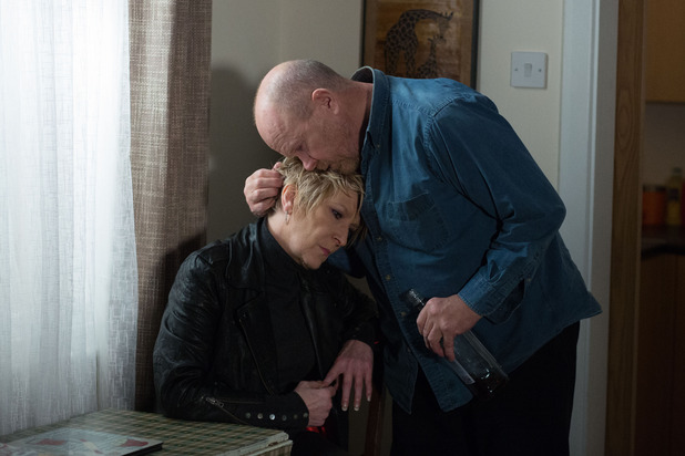 EastEnders, Phil and Shirley get close, Mon 21 Mar