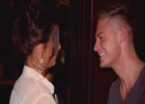 Scotty T and Chantelle Connelly flirting, Geordie Shore Series 12, Episode 1 15 March