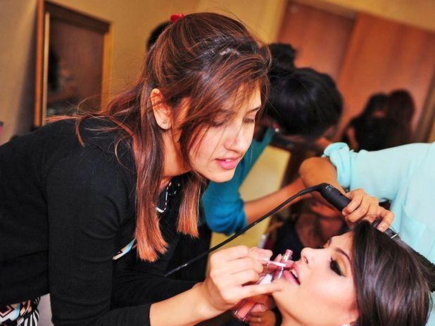 Psychic career gurus - Elle Zahra in her beauty salon