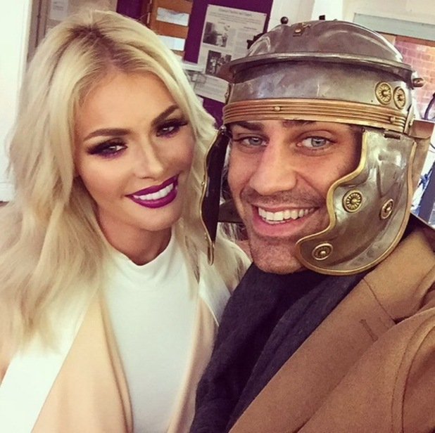 Chloe Sims and Jon Clark go on a date to the Museum of Harlow 15 March