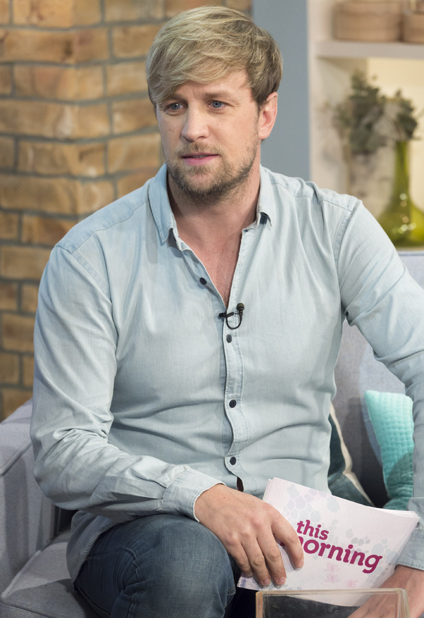 Kian Egan appears on This Morning to talk about I'm A Celebrity, 12 Nov 2014.