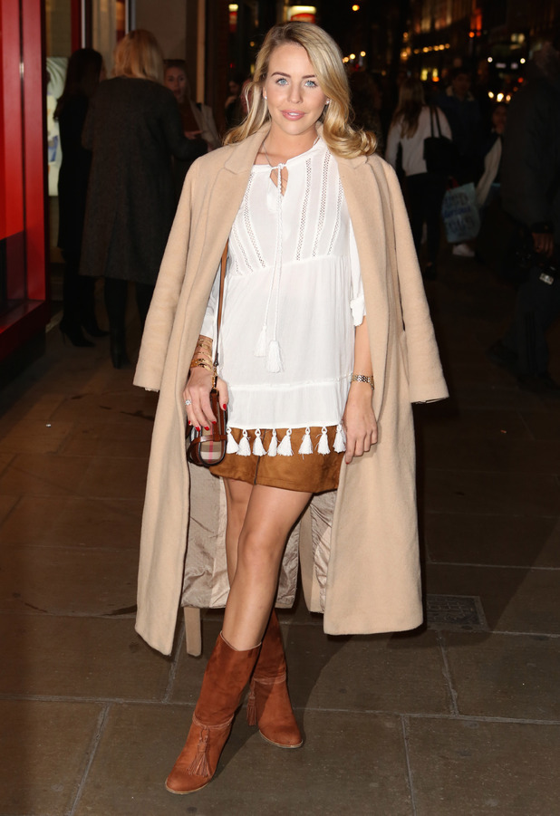 TOWIE's Lydia Bright out and about in London, 17th March 2016