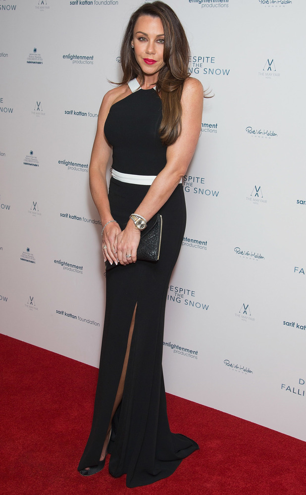 Michelle Heaton at the UK Charity Gala of Despite The Falling Snow at the Mayfair Hotel in London, 23rd March 2016