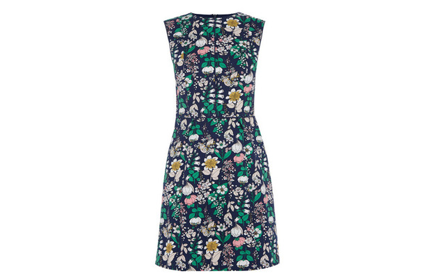 Oasis floral shift dress £55, 23rd March 2016