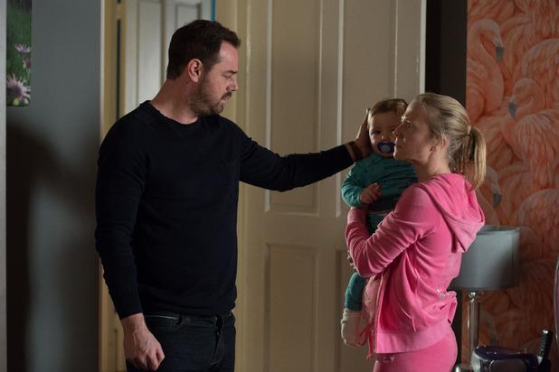 EastEnders, Mick and Linda bring Ollie home, Thu 24 Mar