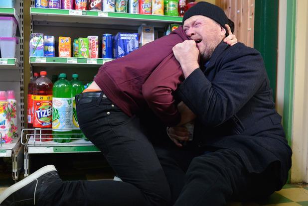 EastEnders, Ben comforts Phil, Tue 29 Mar