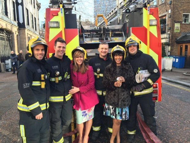 Good Morning Britain taken off air after fire breaks out at studios - 25 March 2016