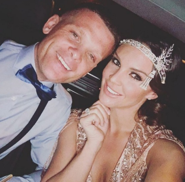 Danielle Lloyd and boyfriend Michael O'Neil 14 March