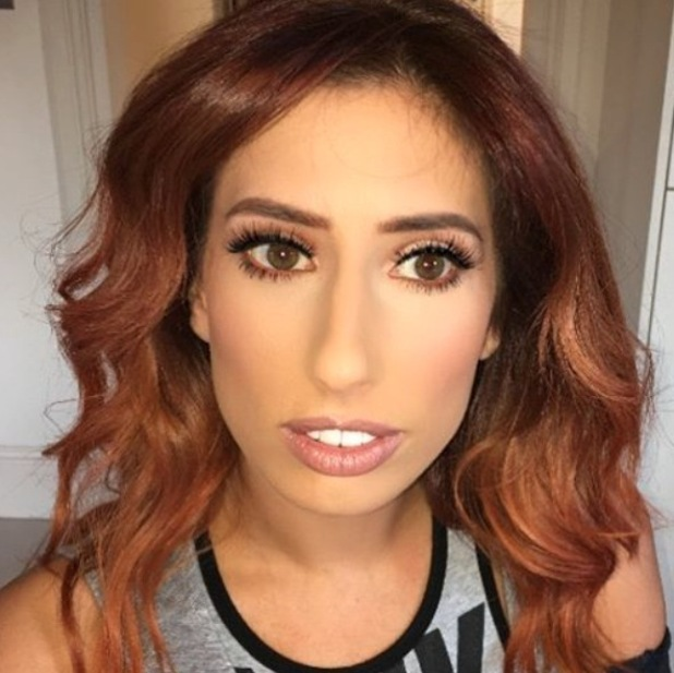 Stacey Solomon's make-up artist Krystal Dawn shares picture of sculpted make-up look, 24th March 2016
