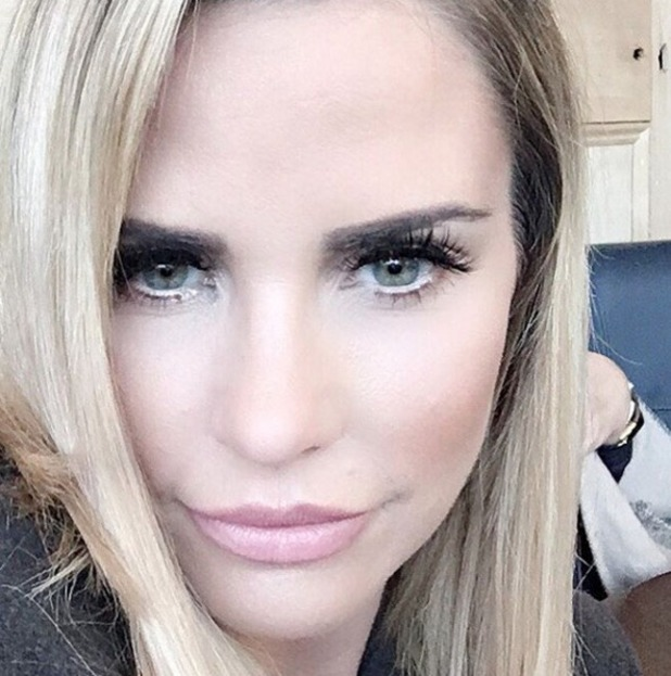 Katie Price, selfie, 19 March 2016