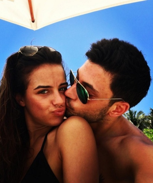 Georgia May Foote and Giovanni Pernice holiday in the Maldives 23 March