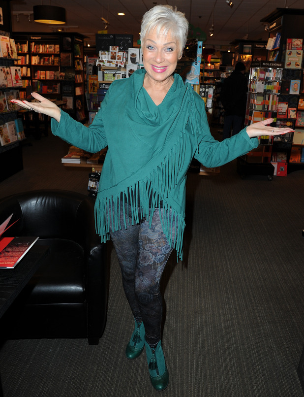 Denise Welch signs copies of her book 'Denise Welch If They Could See Me Now' at Waterstones, Wilmslow, Cheshire - 5 March 2016