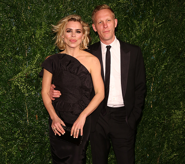 60th London Evening Standard Theatre Awards 2014 held at the London Palladium Billie Piper and Laurence Fox