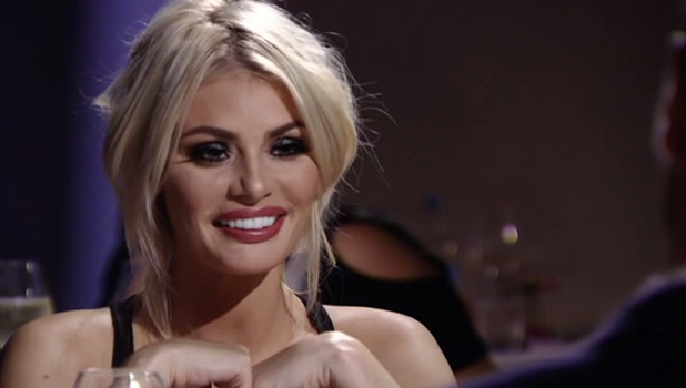 TOWIE - Chloe and Jon go on a date. 23 March 2016.