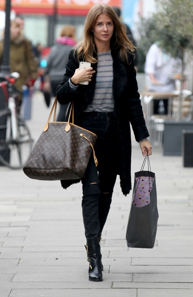 Millie Mackintosh shopping in London 23 March 2016