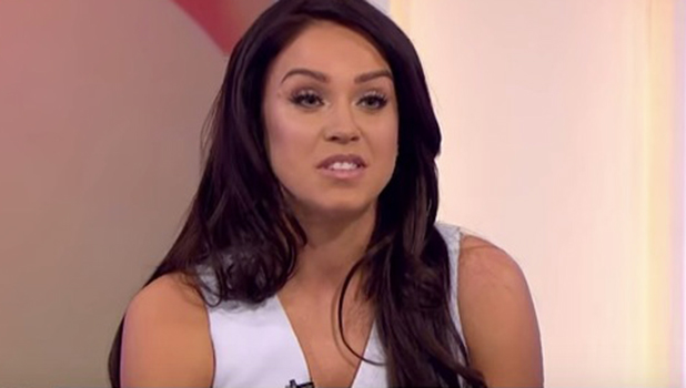Vicky Pattison on Loose Women 22 March 2016