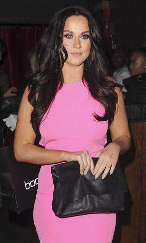 I'm A Celebrity winner Vicky Pattison attends the boohooMAN party at London nightclub RahRah Rooms, 31st March 2016