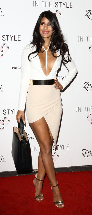 The Only Way Is Essex's Jasmin Walia attends the In The Style party at London nightclub Libertine, 31st March 2016