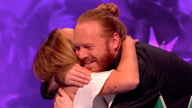 Charlotte Crosby cries over Gaz Beadle on Celebrity Juice 30 March