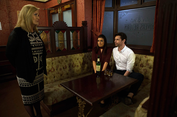 Corrie, Liz suspcious of Will and Michelle, Fri 1 Apr