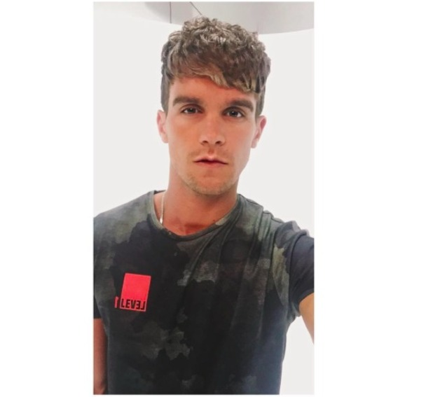 Gary Beadle tries new hair style after Charlotte Crosby split, 2 April 2016.