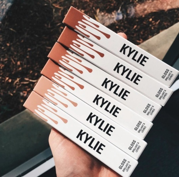 Kylie Jenner expanding Lip Kit to include a range of Lip glosses, 1st April 2016