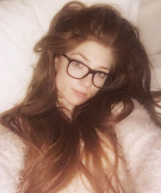 Nicola Roberts wears no make-up and shows off her super-long hair that she's been growing for over two years, 21 March 2016