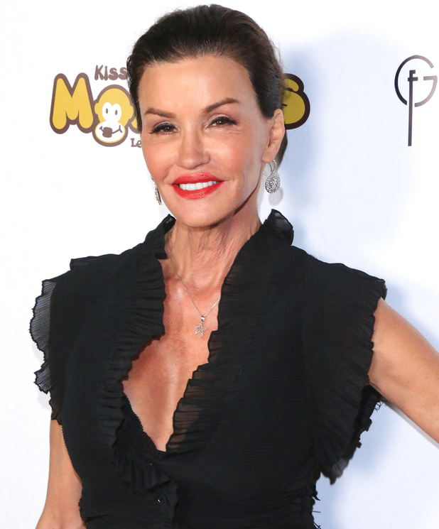 Janice Dickinson at Kiss The Monkeys - Stop Domestic Violence Red Carpet Gala, 12/3/15